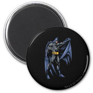 Côté polychrome de Batman Magnet Rond 8 Cm