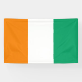 Coted Ivoire Flag Banner