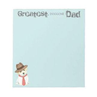 Coton de Tulear Dad Notepad