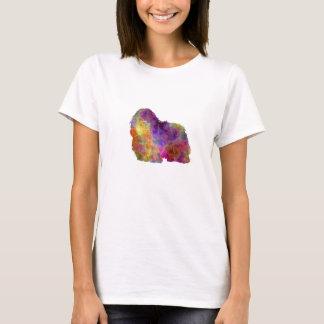 Coton de Tulear in watercolor T-Shirt