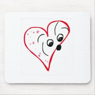 Coton de Tulear Love Mousepad