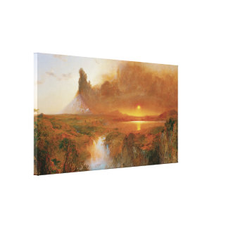 Cotopaxi, 1862 gallery wrapped canvas