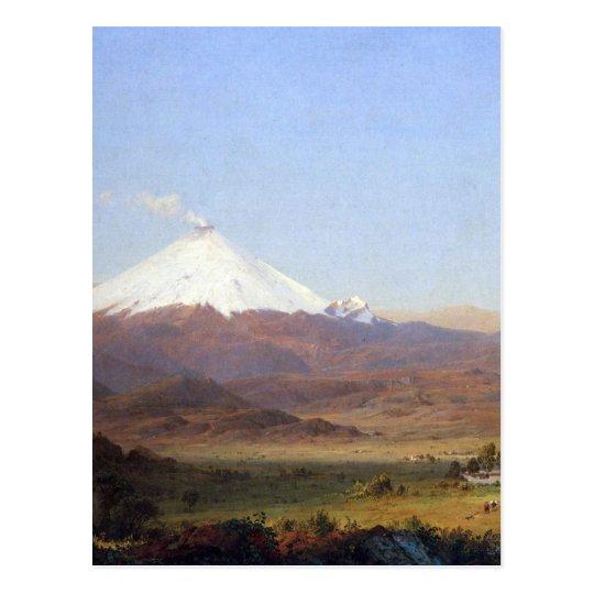 Cotopaxi, Ecuador by Frederick Edwin Church Postcard