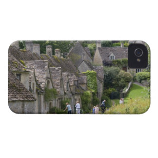 Cotswold stone cottages in the village of iPhone 4 cases