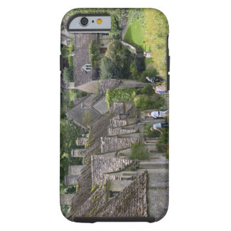 Cotswold stone cottages in the village of tough iPhone 6 case
