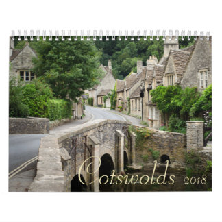 Cotswolds calendar for 2018