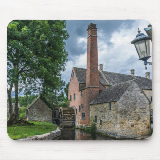Cotswolds Lower Slaughter watermill mousepad