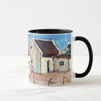 Cottage all-round design mug
