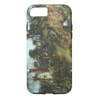 Cottage among Trees with a Sandbank, c.1830-36 (oi iPhone 7 Case