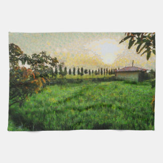 Cottage and farm kitchen towel