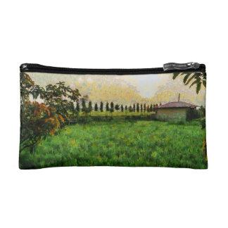 Cottage and farm makeup bag