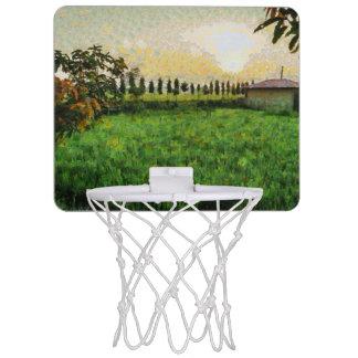 Cottage and farm mini basketball hoop