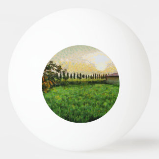Cottage and farm ping pong ball