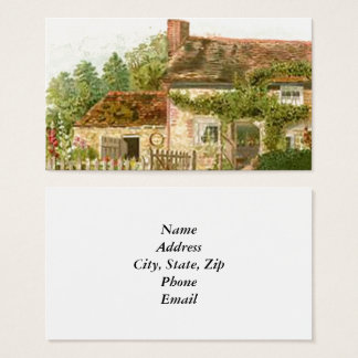 Cottage Business Card