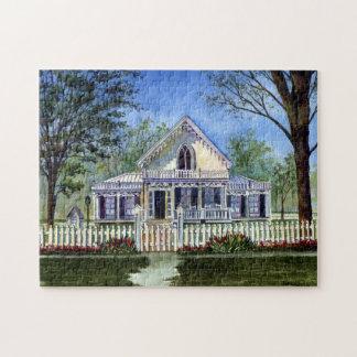 Cottage Charm Jigsaw Puzzle