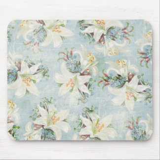 Cottage Chic Day Lilies Mouse Pad