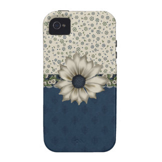 Cottage Chic Floral iPhone Tough Case Vibe iPhone 4 Cover
