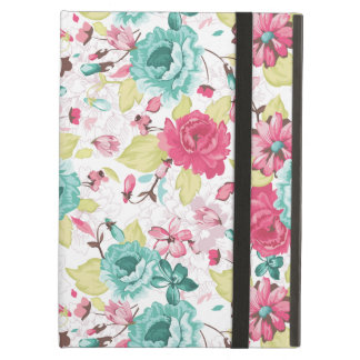 Cottage Chic Flower Pattern iPad Air Covers