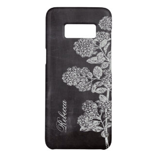 Cottage Chic french country chalkboard botanical Case-Mate Samsung Galaxy S8 Case
