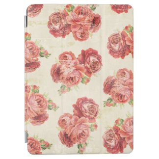 Cottage Chic Girly Roses iPad Air Cover