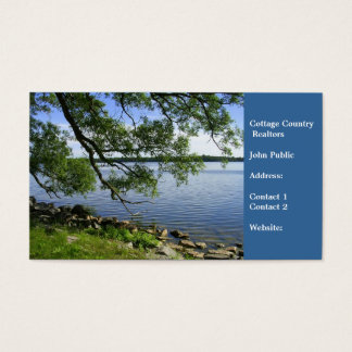 Cottage Country Realtors-Lake View Business Card
