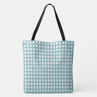 Cottage-Diamonds-River-Blue-Totes-Shoulder-Bags Tote Bag