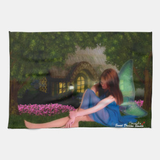 Cottage Fairy Hand Towels