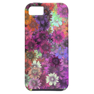 Cottage garden floral pattern case for the iPhone 5