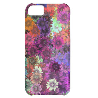 Cottage garden floral pattern cover for iPhone 5C