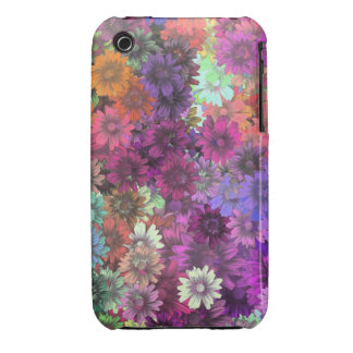 Cottage garden floral pattern iPhone 3 Case-Mate cases