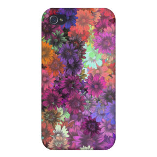 Cottage garden floral pern iPhone 4/4S covers