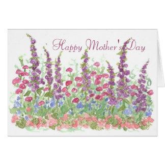 Cottage Garden Happy Mother's Day Spring Garden Card