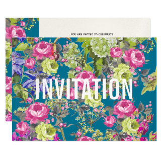 Cottage Garden Liberty Style | Party Invitation