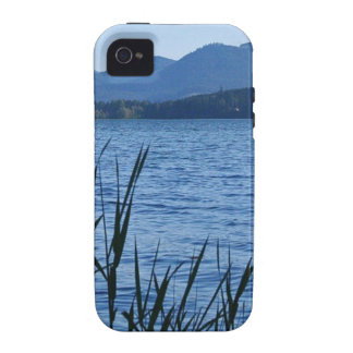 Cottage Grove Lake in Blue iPhone 4/4S Cases