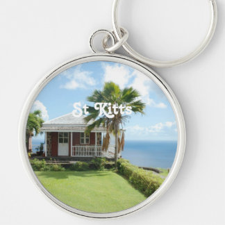 Cottage in St Kitts Key Chain