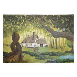 Cottage in the Woods Placemat