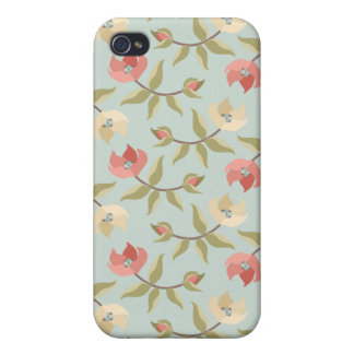 Cottage Rose i Covers For iPhone 4