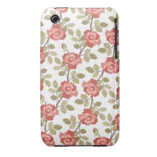 Cottage Rose iPhone 3gs Case iPhone 3 Case-Mate Case