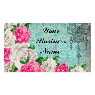 Cottage Rose & Lace Business Card