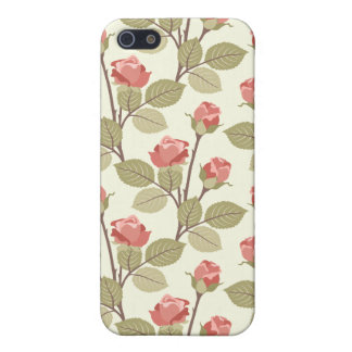 Cottage Rosebuds Case For The iPhone 5