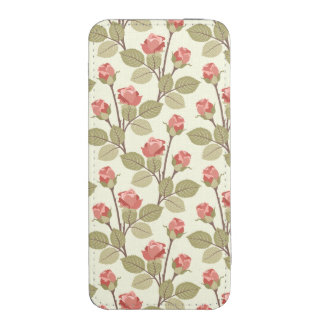 Cottage Rosebuds iPhone Pouch