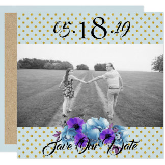 Cottage Roses Save The Date Wedding Suite Card