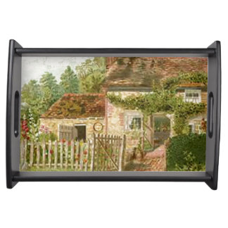 Cottage Serving Tray