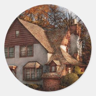 Cottage - Westfield, NJ - Family Cottage Classic Round Sticker