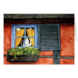 Cottage Window Card