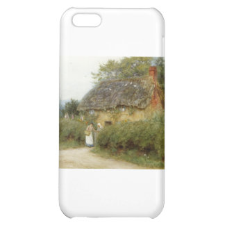 Cottage With Sunflowers Case For iPhone 5C