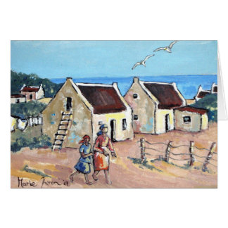 Cottages by the Sea Card