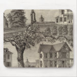 Cottages of WC Hamilton, Spring Lake, NJ Mouse Pad