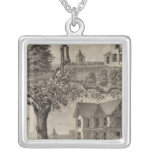 Cottages of WC Hamilton, Spring Lake, NJ Silver Plated Necklace
