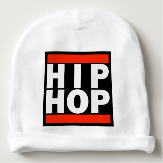 Cotton Baby Beanie with HIP HOP logo!